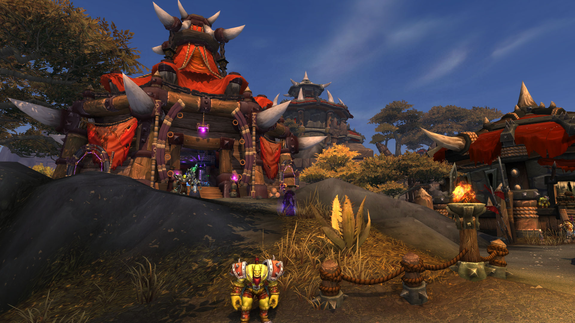 The architecture of warlords of draenor with screenshots